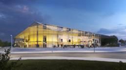 Palais des sports, Caen